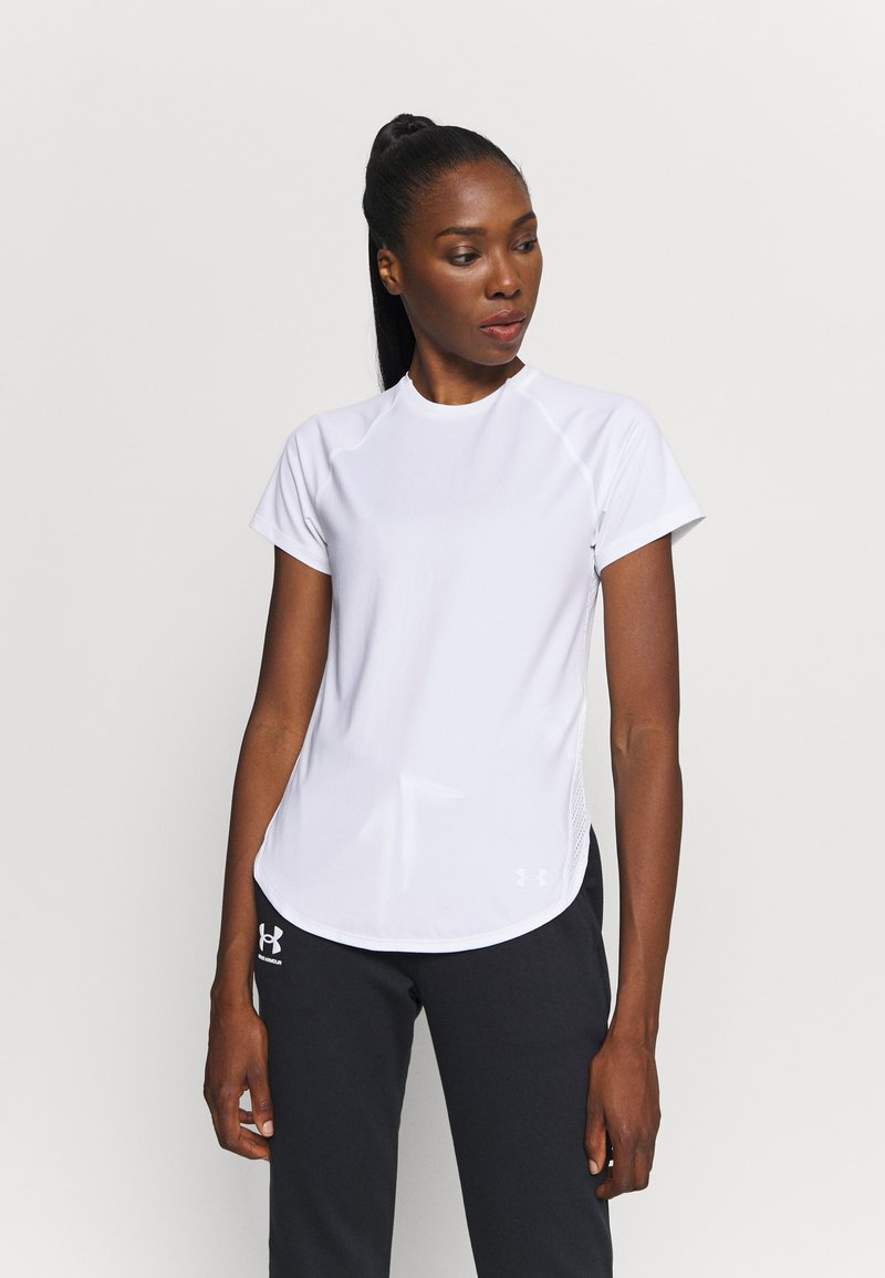 Under Armour - SPORT HI LO  - T-Shirt basic - white