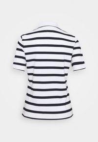Tommy Hilfiger - REGULAR SCRIPT STRIPED - Print T-shirt - cabana/white - 1