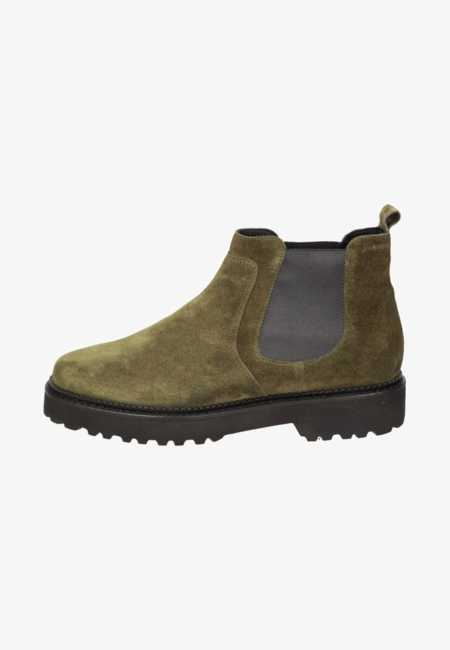 VESILCA - Classic ankle boots - green