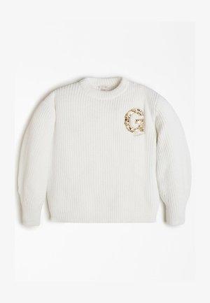 Pullover - mehrfarbig beige