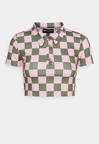 NEW girl ORDER - CHECKERBOARD - Print T-shirt - pink - 0