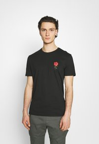YOURTURN - Print T-shirt - black - 0