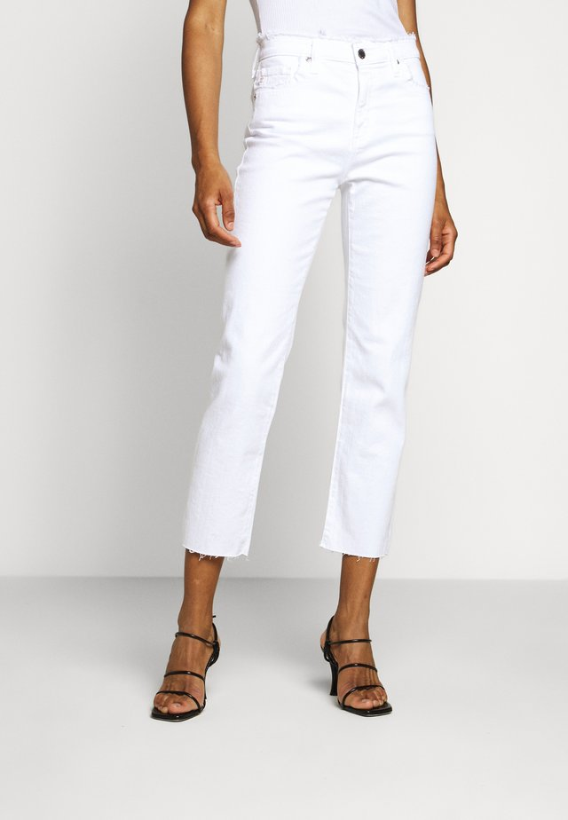ISABELLE - Jean slim - retro white