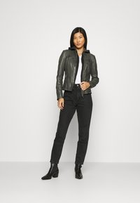 Gipsy - NOLA LAGA - Leather jacket - grey - 1