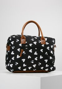 Kidzroom - DIAPERBAG - Torba do przewijania - black - 2