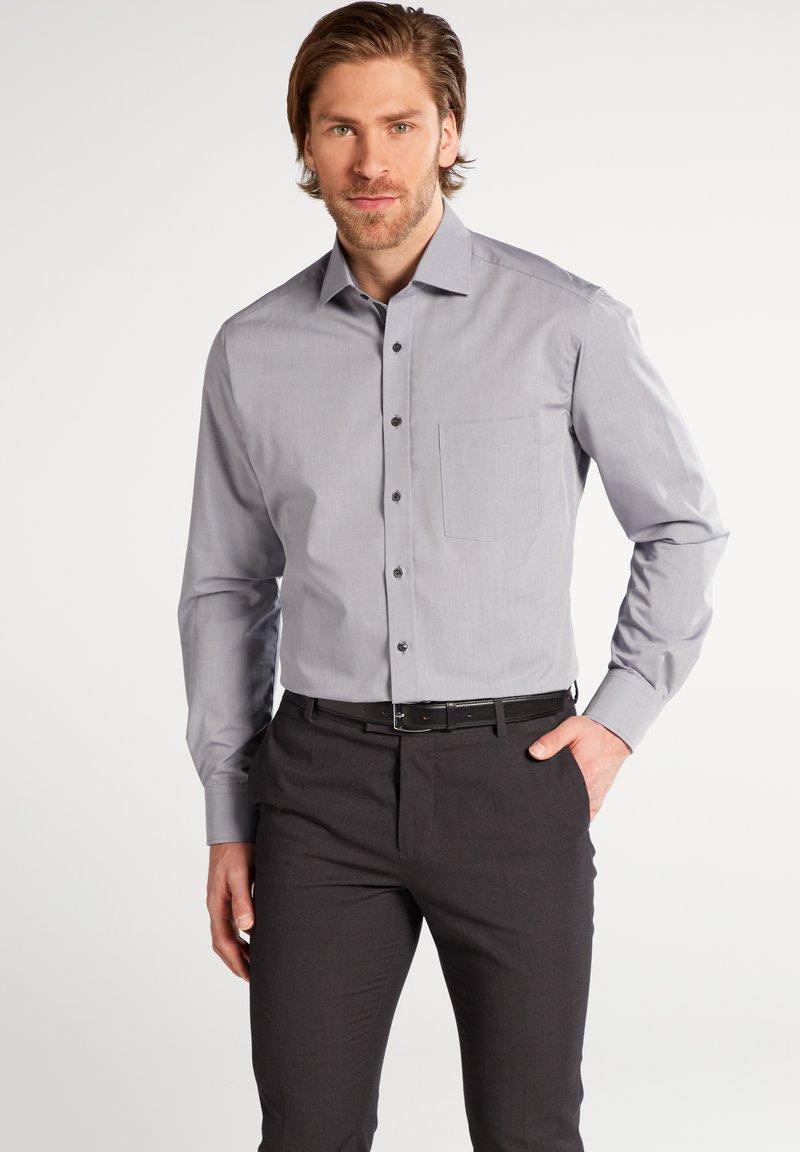 Eterna - FITTED WAIST - Formal shirt - grau