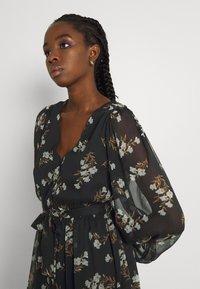 Vero Moda - VMFRAYA V NECK BALLOON DRESS - Shirt dress - black - 3