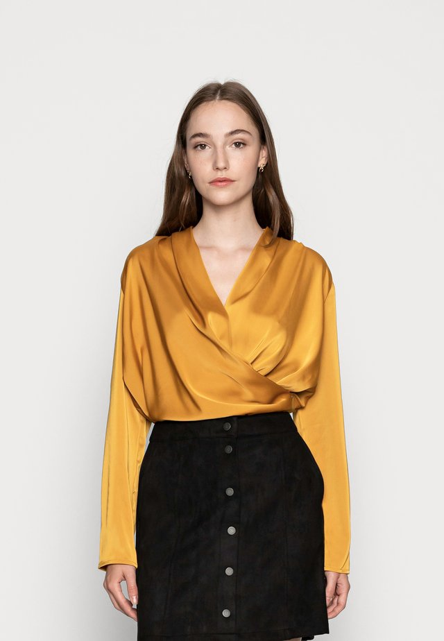 YASNAPPY - Blouse - buckthorn brown