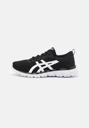 GEL-QUANTUM LYTE - Neutral running shoes - black/white