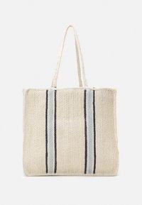 Pieces - PCGIT SHOPPER - Tote bag - nature/sky captain/plein air - 0