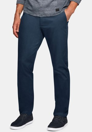 SHOWDOWN CHINO TAPER PANT - Broek - dark blue