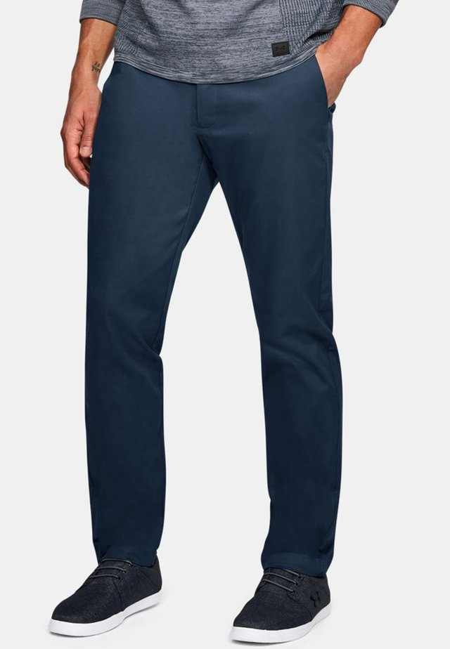 SHOWDOWN CHINO TAPER PANT - Kalhoty - dark blue