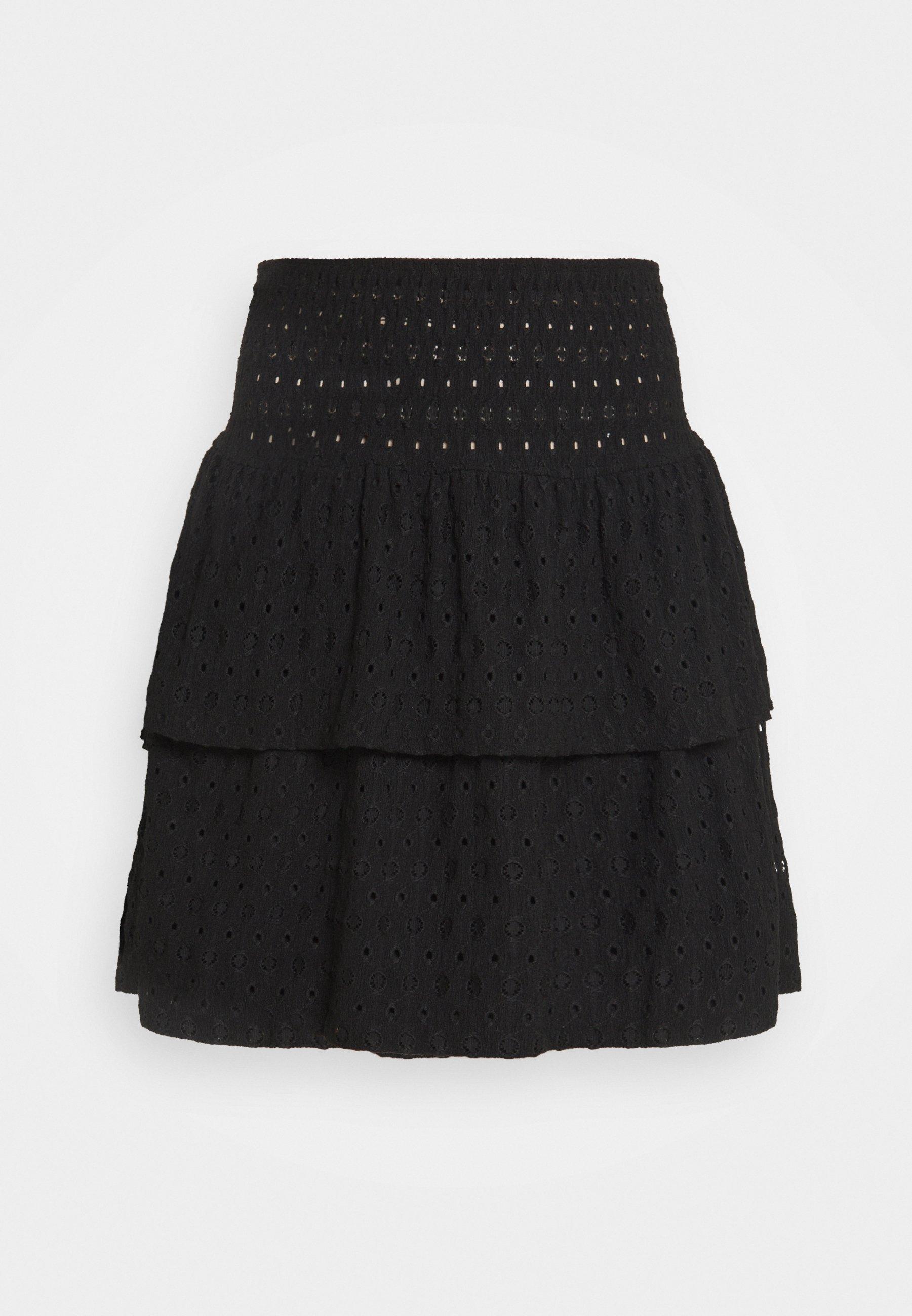 Femme PCCHRISTY SMOCK SKIRT - Minijupe