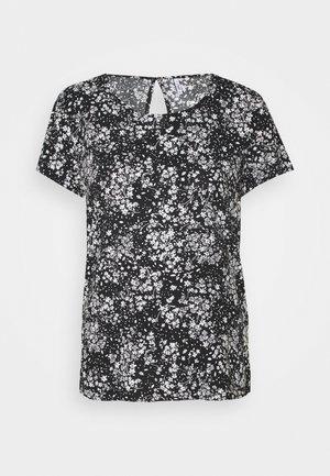 ONLFIRST ONE LIFE - Print T-shirt - black