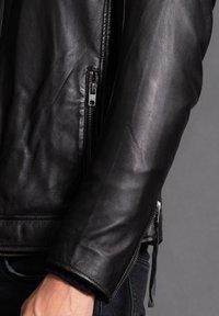 Tigha - ASHTON - Leather jacket - black - 5