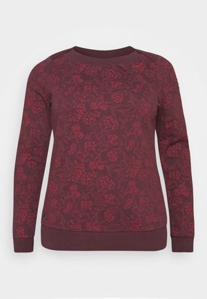TASHI PLUS - Sweatshirt - wine red