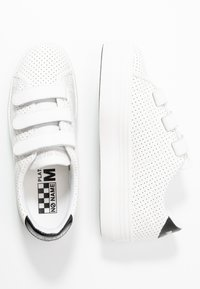 No Name - PLATO STRAPS - Trainers - white/fox white - 3