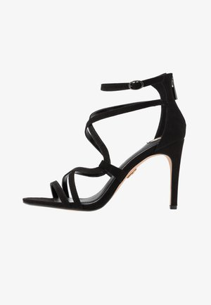 JAMILA - High heeled sandals - black