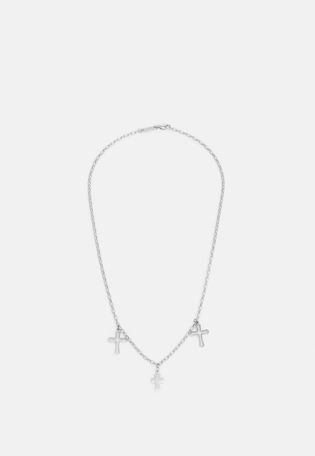 CONFESSION UNISEX - Collana - silver-coloured