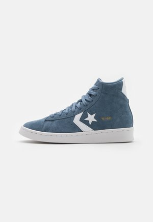 PRO UNISEX - Höga sneakers - lakeside blue/white