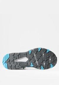 The North Face - VECTIV EXPLORIS MID FUTURELIGHT - Hiking shoes - micro chip grey/maui blue - 6