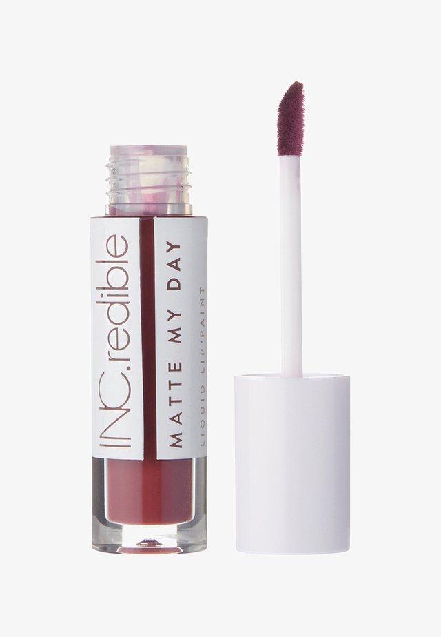 INC.REDIBLE MATTE MY DAY LIQUID LIPSTICK - Liquid lipstick - 10067 i'm someone else