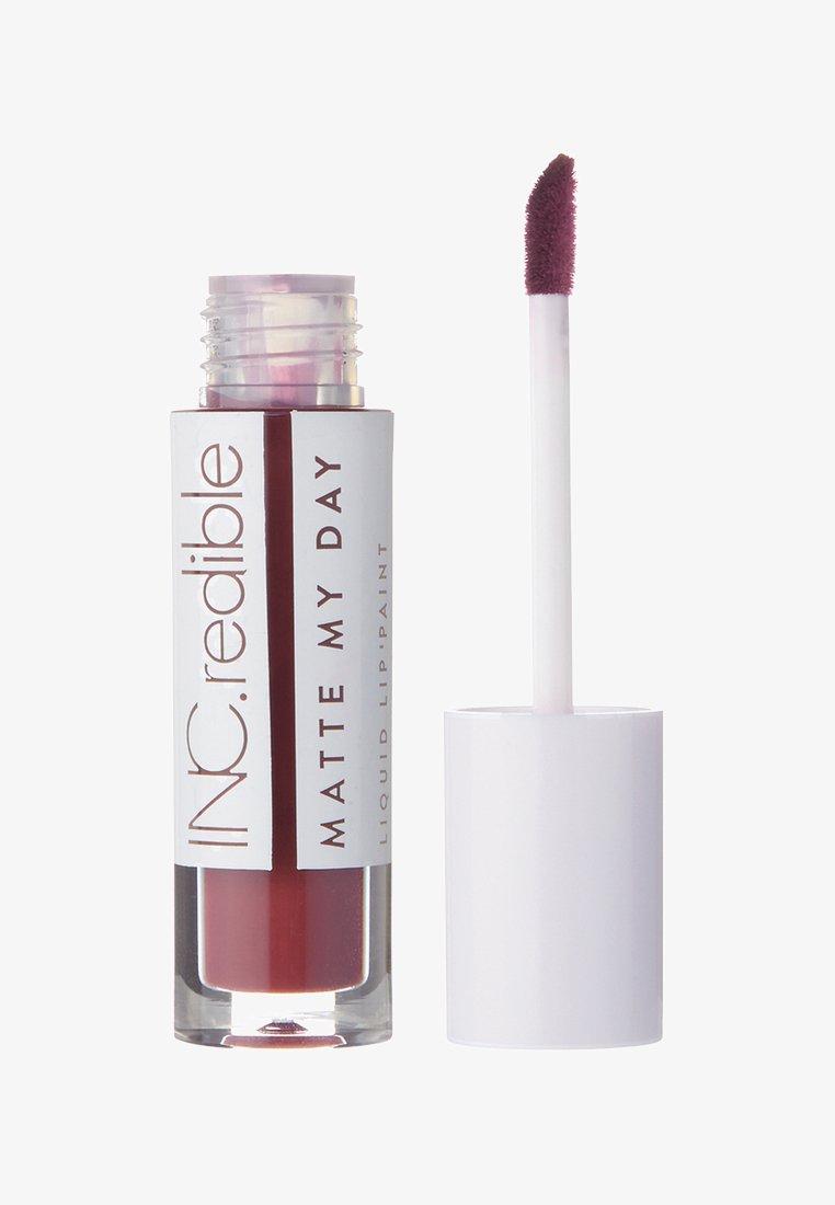 INC.redible - INC.REDIBLE MATTE MY DAY LIQUID LIPSTICK - Liquid lipstick - 10067 i'm someone else