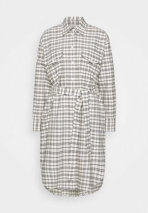 LANGARM - Shirt dress - offwhite