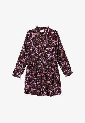 Shirt dress - purple aop