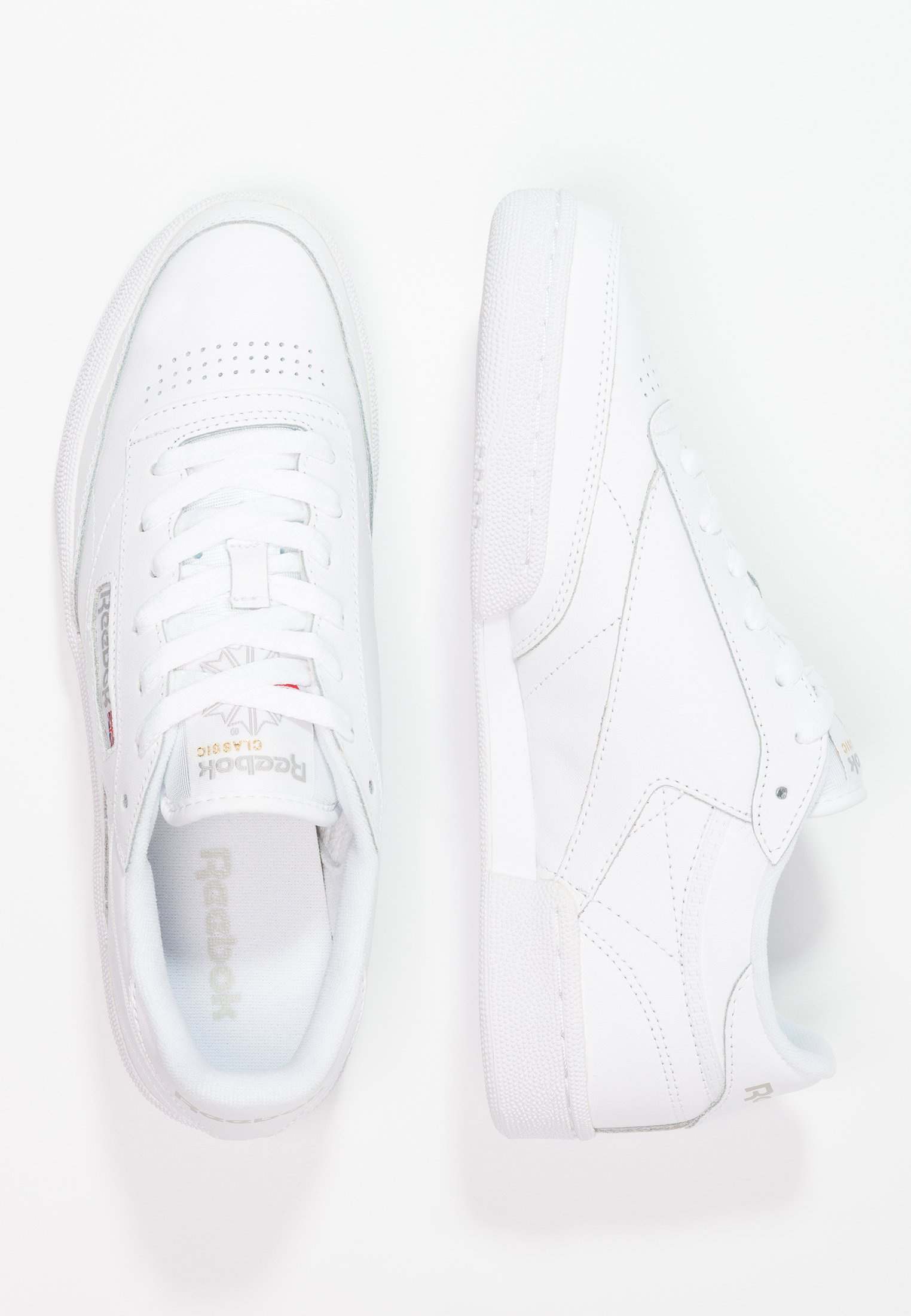 Reebok Classic CLUB C 85 Sneakers basse whitelight grey