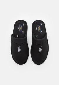 Polo Ralph Lauren - KLARENCE  - Pantoffels - black/grey - 3