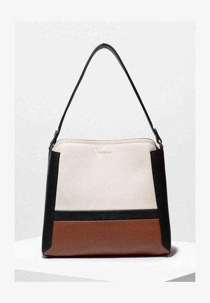 HALLE HOBO - Handbag - nero stripe