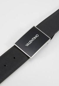 Valentino Bags - DEER LOGO REVERSIBLE BELT - Ceinture - nero/moro - 3
