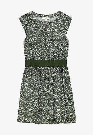 Day dress - dark khaki