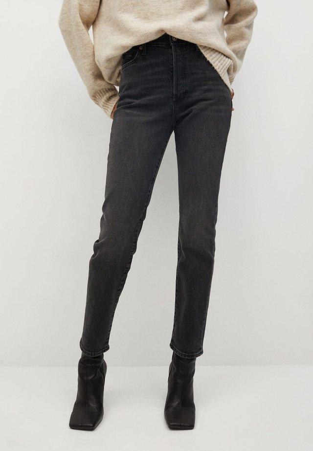 GISELE - Slim fit jeans - black denim