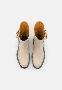Proenza Schouler - Platform ankle boots - butter - 4