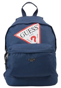 Guess - BACKPACK UNISEX - Rucksack - deck blue - 1