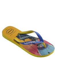 Havaianas - TOP FORTNITE - Pool shoes - yellow, blue - 1