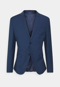Isaac Dewhirst - CHECK SUIT - Oblek - blue - 2