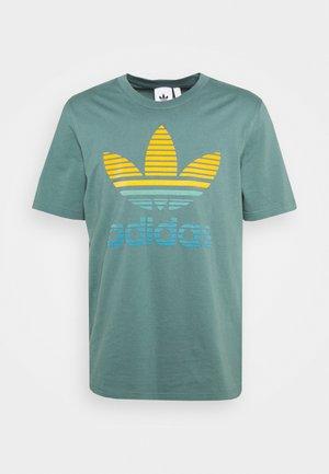 TREF OMBRE UNISEX - T-shirts med print - hazy emerald