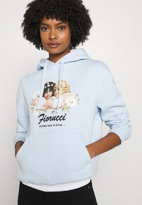Fiorucci - DAISY ANGELS HOODIE - Mikina - pale blue - 3