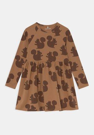 SQUIRREL DRESS - Jersey dress - brown