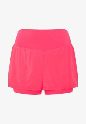 Krótkie spodenki sportowe - neon pink