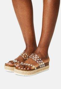 Madden Girl - CASE - T-bar sandals - clear - 0