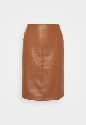 VIPEN NEW SKIRT - Falda de tubo - oak brown