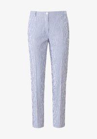 Uta Raasch - Trousers - blau/offwhite - 5