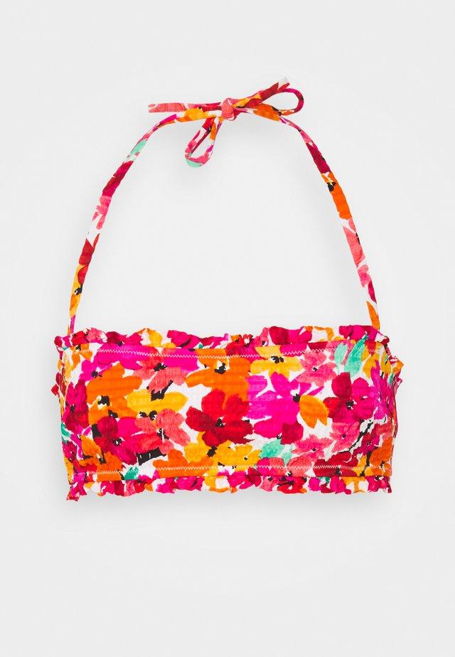 LENA BANDEAU - Bikiniyläosa - multicolore