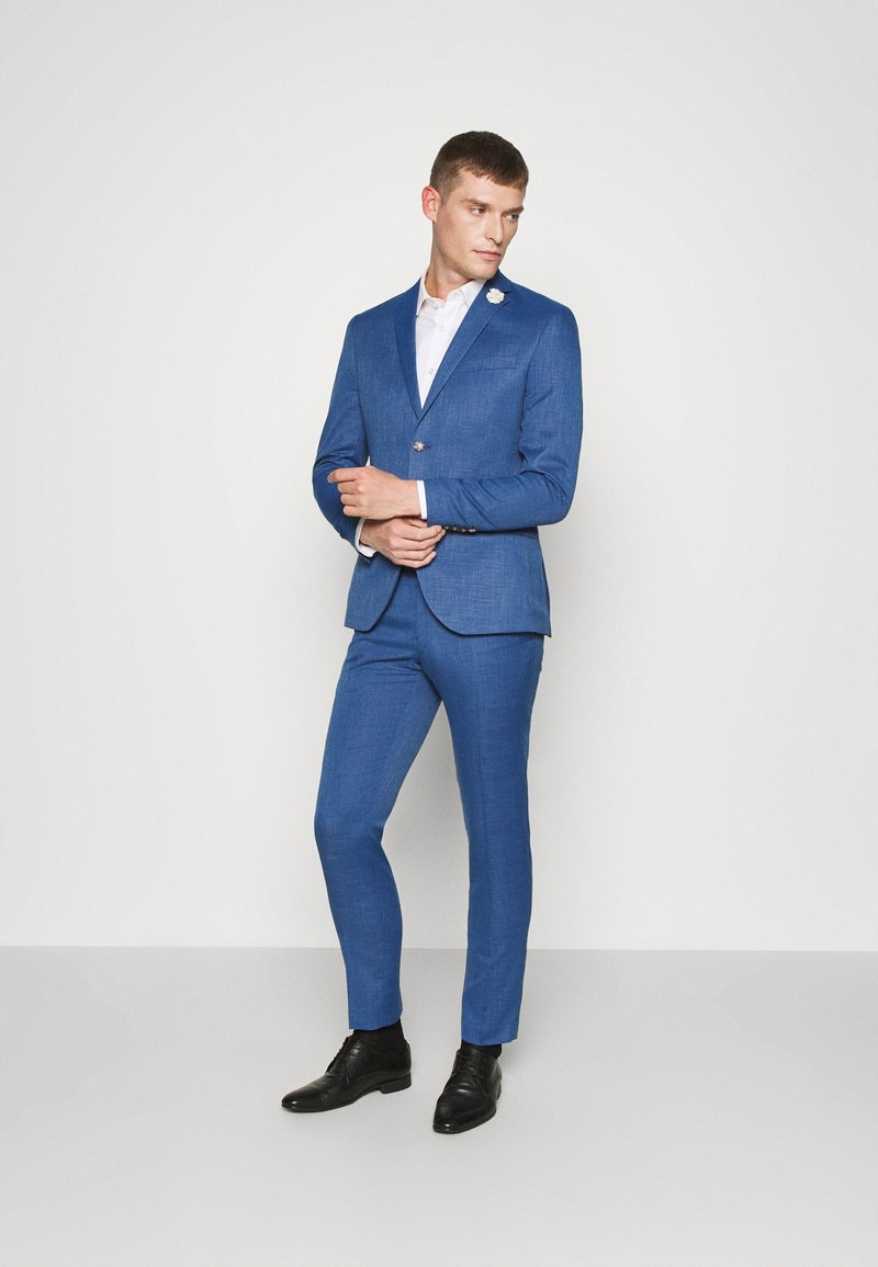 Isaac Dewhirst - WEDDING COLLECTION - SLIM FIT SUIT - Garnitur - blue