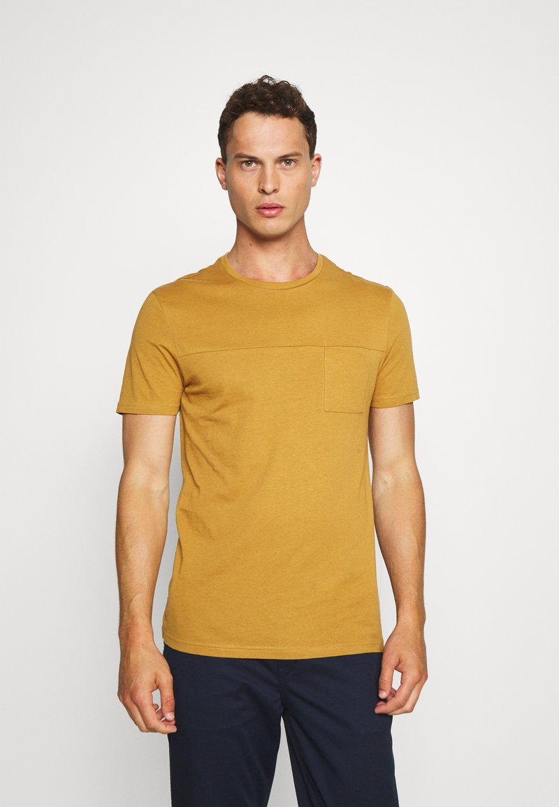 Pier One - Jednoduché triko - brown
