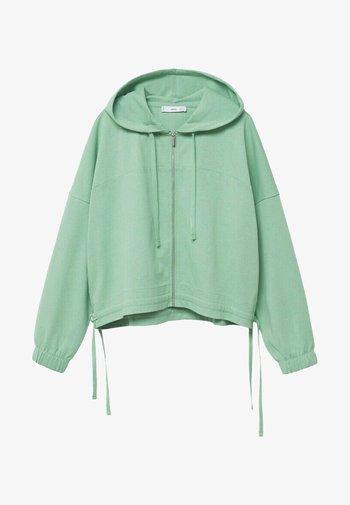 CLAY - Mikina na zip - pastellgrün